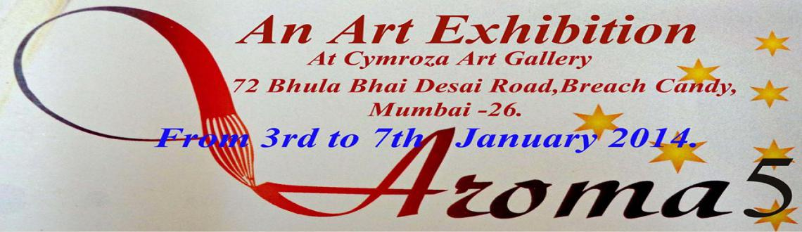Aroma 5, an art exhibition at Cymroza Art Gallery