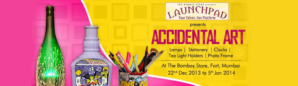 Book Online Tickets for  Accidental Art at The Bombay Store, Mumbai. The 'Launchpad' initiative by The Bombay Store is in full swing and brings in a Dazzling December with \\\'Accidental Art\\\' on display. Accidental Art creates ornate and utility art with Bottles. Get ready to see a breath taking co