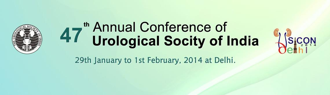 USICON 2014 - 47th Annual Conference of Urological Socity of India