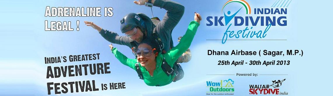 INDIAN SKYDIVING FESTIVAL (ISF) 15 Jan - 2 Feb, 2014