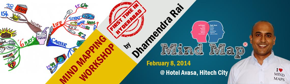 Mind Mapping Workshop by Dharmendra Rai @ Hyderabad