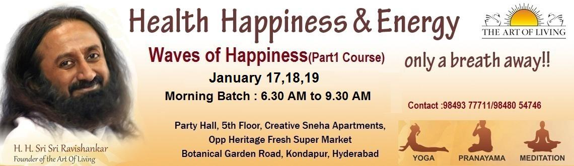 The Art of Living Happiness Program ( Part-1 Course)