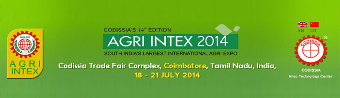 Book Online Tickets for Agri Intex 2014, Coimbatore. Opportunity to meet