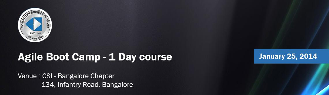 Agile Boot Camp - 1 Day course