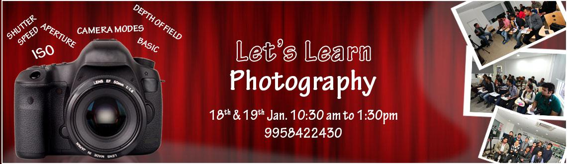 Lets Learn Photography