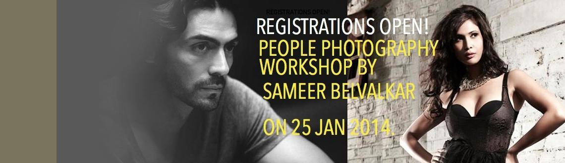 """Book Online Tickets for People Photography Workshop by Sameer Be, Pune. This January, learn from the best about how to capture people.Renowned glamour and fashion photographerSameer Belvalkarwill beconducting a one-day """"People Photography Workshop"""" in Pune. The workshop, targeted at a"""