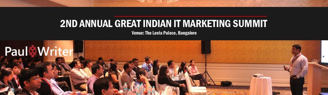 2ND ANNUAL GREAT INDIAN IT MARKETING SUMMIT