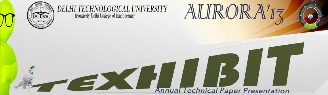 TEXHIBIT, Annual Technical Paper Presentation