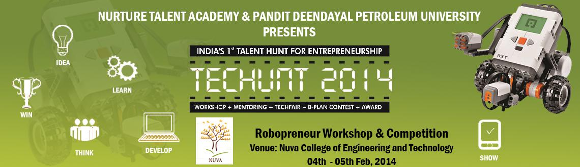 Robopreneur  Robotics Workshop at Nuva College, Nagpur