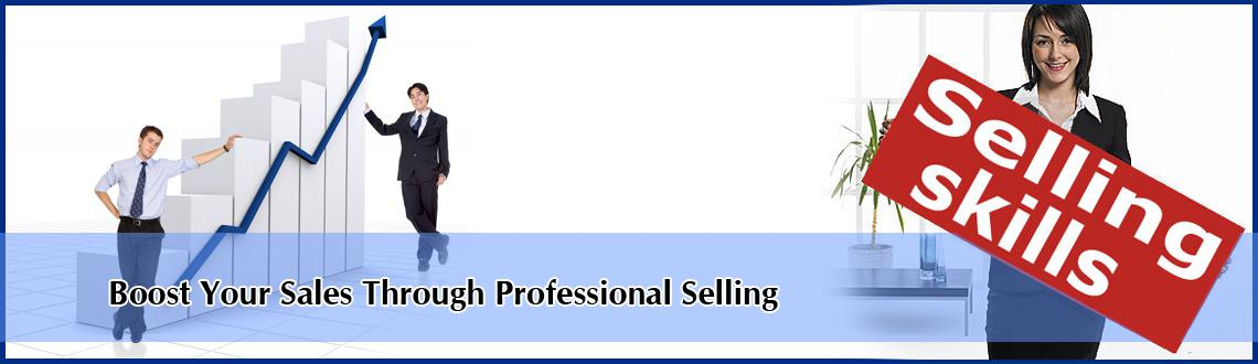 Boost Your Sales Through Professional Selling
