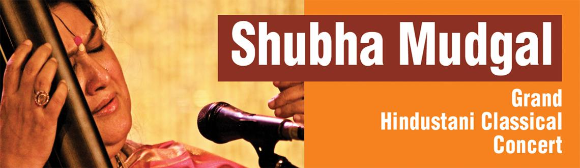 Book Online Tickets for Shubha Mudgal -  Hindustani Classical Co, Bengaluru. Shubha Mudgal is a well-known Indian singer of Hindustani classical music, Khayal, Thumri, Dadra, and popular Indian Pop music. In addition to being a popular concert artist, Shubha has also won recognition as a composer. Her repertoire of medieval b