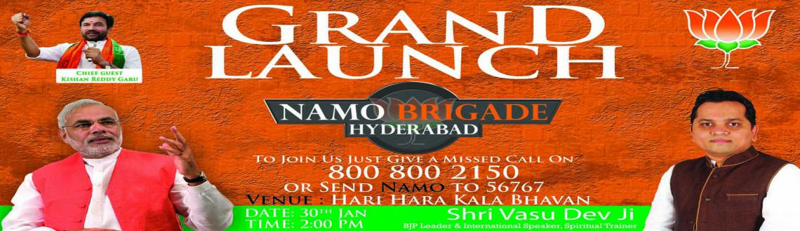 NaMo Brigade Hyderabad Launch