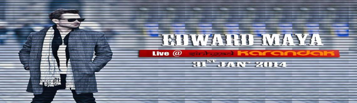 Book Online Tickets for Edward Maya Live In Concert, Pune. EGISTRATIONS HAVE ALREADY CLOSED.IMP - VALID COLLEGE ID, PRINT OUT OF CONFIRMATION MAIL & PASS NECESSARY TO ENTER THE VENUE.READ THE FOLLOWING IN ORDER TO OBTAIN THE PASS.ENTRY - 1. Bring your valid college ID with the print out of the confirmati
