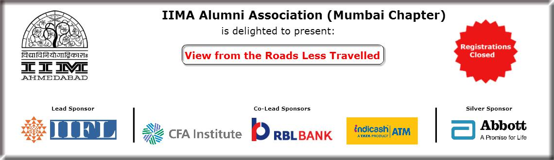 Book Online Tickets for IIMA Alumni Meet, Mumbai. Registrations closed