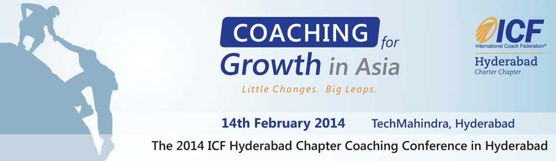 Coaching for Growth in Asia in India on 14 Feb @ TechMahindra, Hyderabad