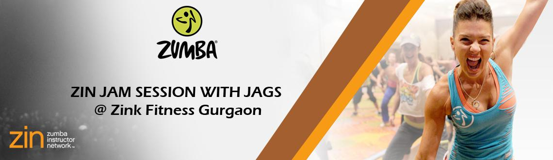ZIN JAM SESSION WITH JAGS - @ Zink Fitness Gurgaon