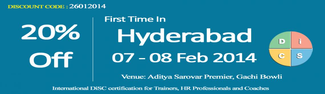 DiSC Trainer Certification in Hyderabad