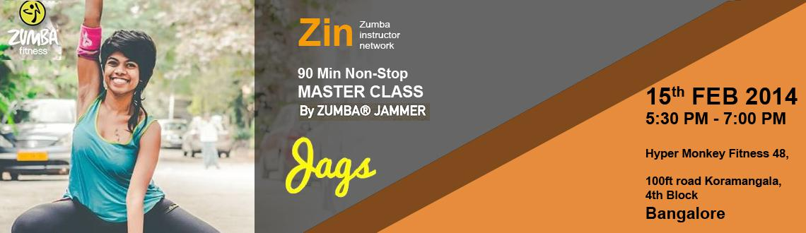 Master Class with Zumba Jammer Jags at Hypermonkey Fitness, Bangalore
