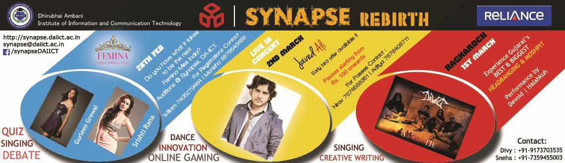 Book Online Tickets for Synapse 2014, Ahmedabad. Event 1 : 