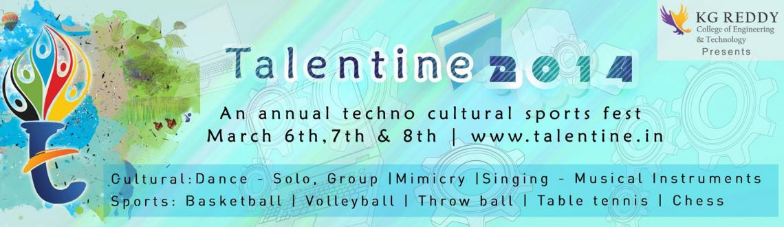 Book Online Tickets for Talentine2014-cultural, Hyderabad. You\\\'v got to dance like nobody is watching you....You\\\'ve got to sing like nobody is listening to you and live like its heaven on earth...!!!!!-William W.PurkeyPull up your sock and get prepared for the ultimate fun...All you dance lovers get re