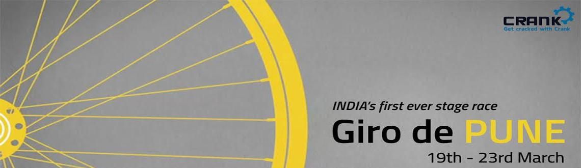 Book Online Tickets for Giro de PUNE, Pune. India\\'s 1st stage race ! 