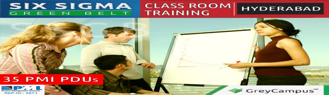 Book Online Tickets for Six Sigma Green Belt Training-Hyderabad, Hyderabad. GreyCampus brings to you a highly interactive 3-day classroom training and certification program for the Six Sigma Green Belt at Hyderabad on 15/16/22 February 2014