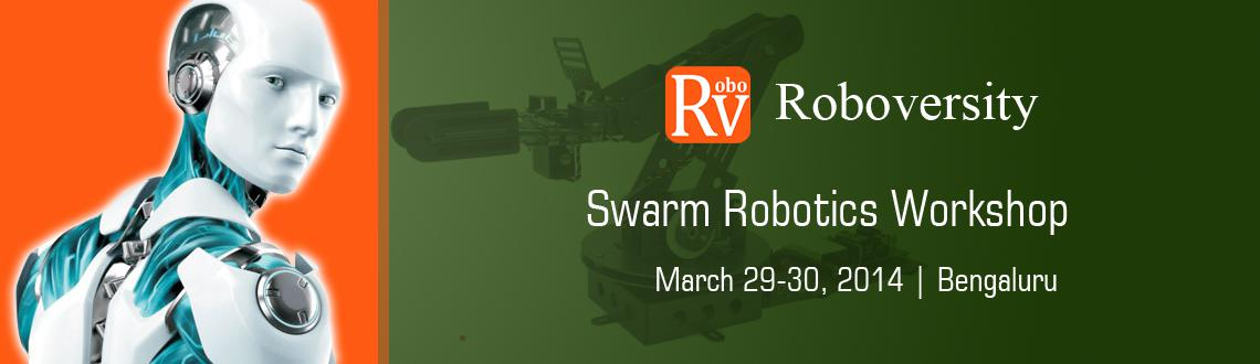 Book Online Tickets for Swarm Robotics Workshop at Bangalore, Bengaluru. Swarm Robotics deals with the Artificial Swarm Intelligence and involves the usage of multiple number of Robots which coordinate among themselves to complete a mission. The robots communicate with each other wirelessly and take decisions. This worksh