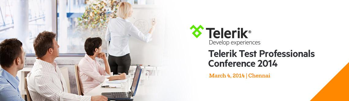 Telerik Test Professionals Conference 2014