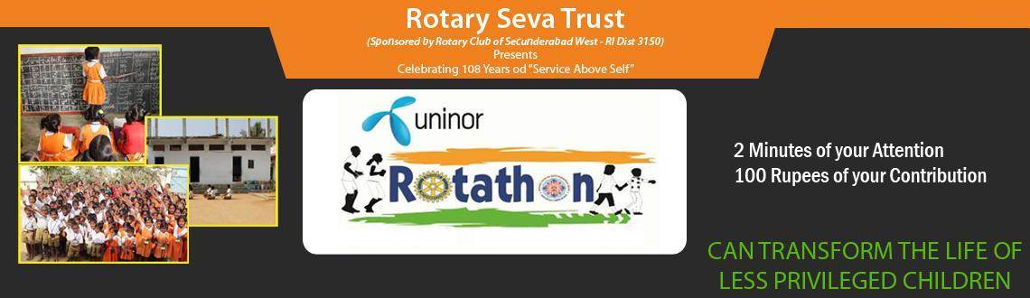 Book Online Tickets for Uninor Rotathon (Rotary 108 Walk) ::: Do, Hyderabad. Please use this option if you are unable to participate in the Walk but would like to Contribute towards the future of the children.