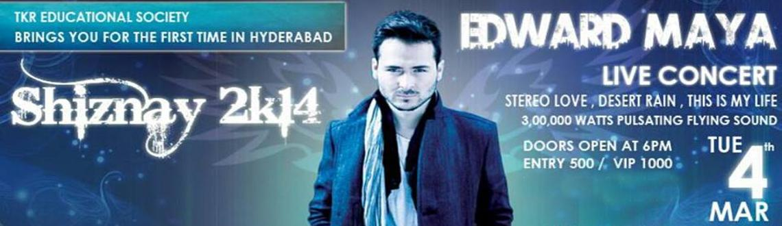 Book Online Tickets for Edward Maya Live in Concert - Shiznay 2k, Hyderabad. After the grand success of AKCENT live concert we are back again with EDWARD MAYA live concert...  SHIZNAY 2k14 brings you for the first time to hyderabadwith 3lakhs watts pulsating sound...  live performance followed by a DJ pe
