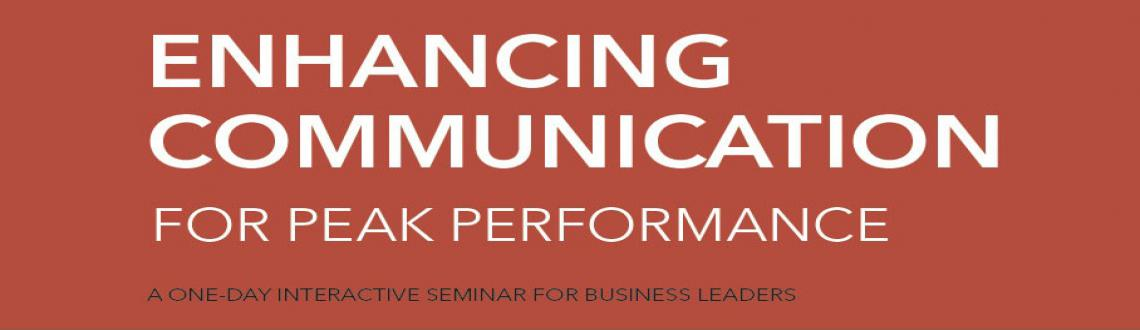 Enhancing Communication for Peak Performance