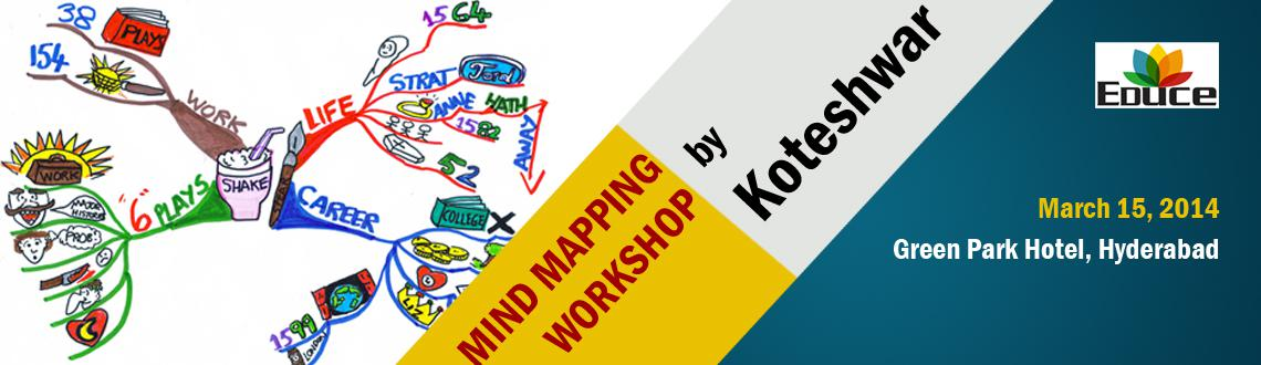 Mind Mapping workshop @ Hyderabad by Koteshwar (Think Buzan Licensed Instructor)