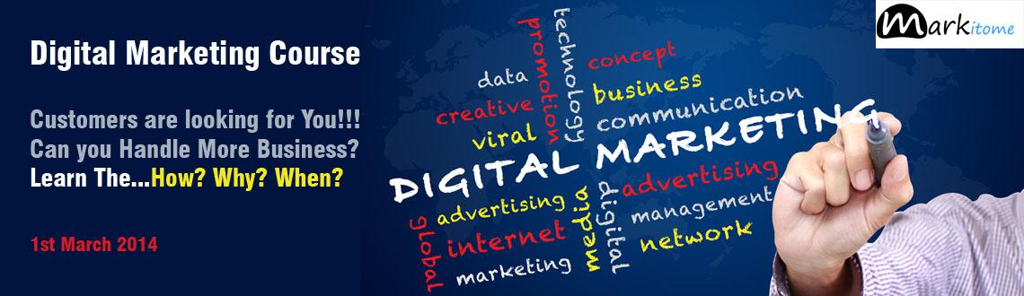 Book Online Tickets for Digital Marketing Workshop, Hyderabad. Get the visibility that your business needs... This digital marketing workshop is targeted at those who require a strong online presence and want to enhance their business to the next level... 