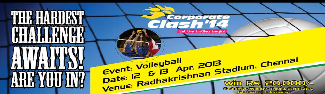 Corporate Clash 2014 - Volley Ball