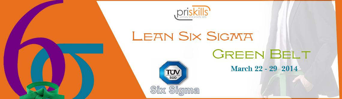 Book Online Tickets for Six Sigma Green Belt certification at Ba, Bengaluru.  A Six Sigma Green Belt candidate confirms commitment to quality and the positive impact it will have on his organization.  TÜV SÜD Certified Six Sigma Green Belt is considered as a mark of quality excellence in industries.