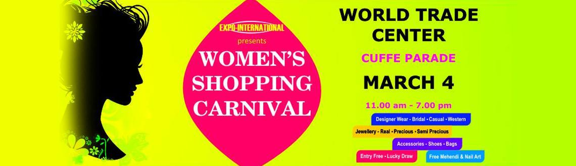 Book Online Tickets for Women Shopping Carnival, Mumbai. Women Shopping Carnival Mumbai is a one of a kind event to be held in Mumbai in India. It is an excellent platform to showcase the companies and their brands to many customers. This exhibition will display an extensive variety of consumer and lifesty