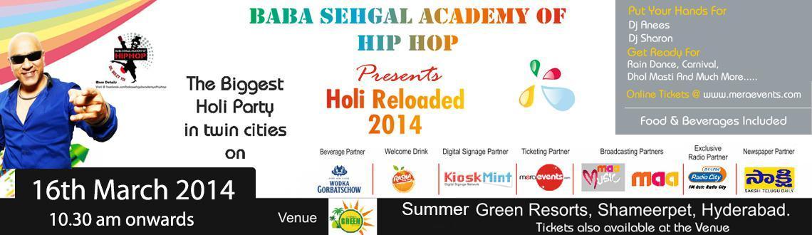 Holi Reloaded 2014