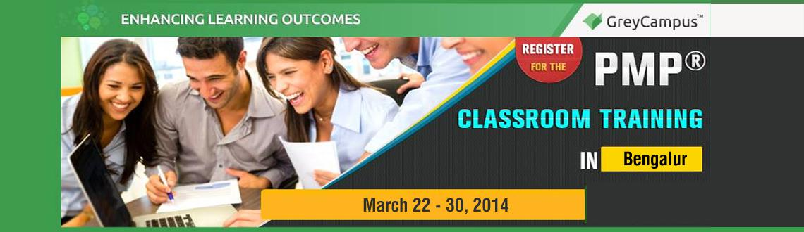 PMP CLASSROOM TRAINING BANGALORE