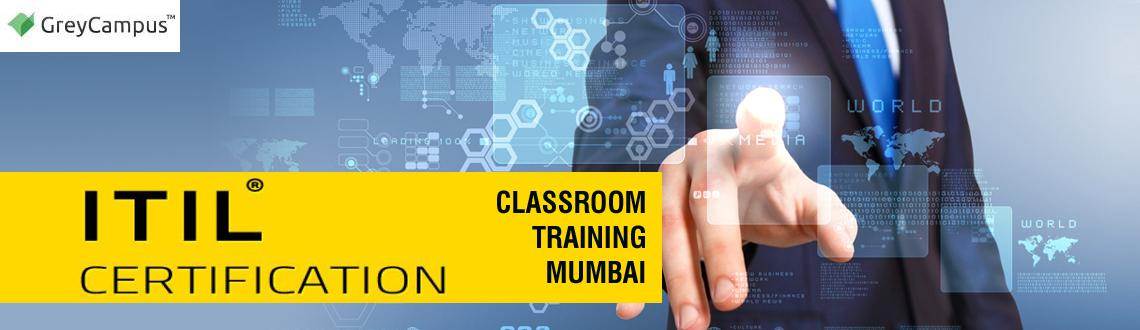 Book Online Tickets for ITIL FOUNDATION CLASSROOM TRAINING MUMBA, Mumbai.  