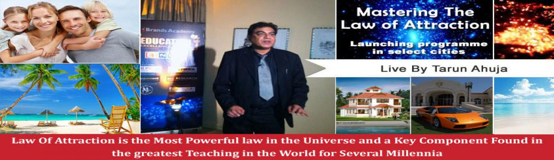 Book Online Tickets for Mastering the Law of Attraction - The se, Mumbai. 2 DAY POWER PACKED PROGRAM ON MAXIMUM ACHIEVEMENT  Master The Law of Attraction from ET NOW Award Winning Trainer - Tarun Ahuja with 15 years of experience and has changed the lives of more than 70,000 individuals.    &n