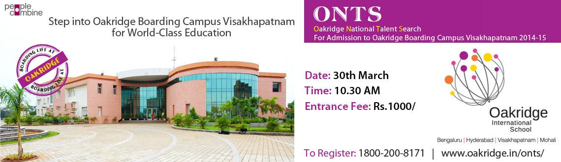 Step into Oakridge Boarding Campus Visakhapatnam for World-Class Education