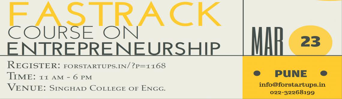 Fastrack Course On Entrepreneurship-Pune