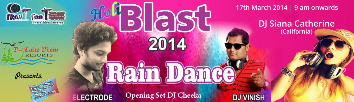 Holi Blast 2014 - Holi Party at D Lake View Resort