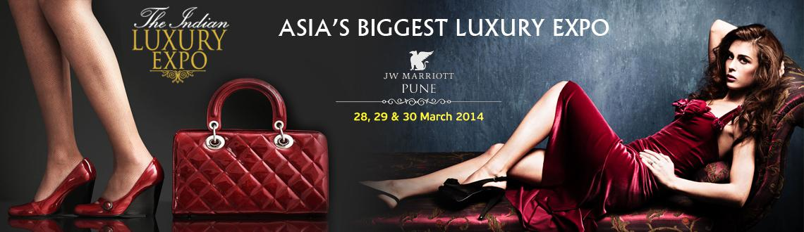 Book Online Tickets for The Indian Luxury Expo - Pune 2014, Pune. THE INDIAN LUXURY EXPO - PUNE 2014All set to make its debut in Pune with an extensive range of offeringsThe Indian Luxury Expo is a one of its kind concept bringing leading luxury brands across 20 lifestyle segments like Art & Collectibles, Cars,