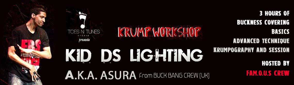 Krump Workshop ft Kid Ds Lighting a.k.a ASURA
