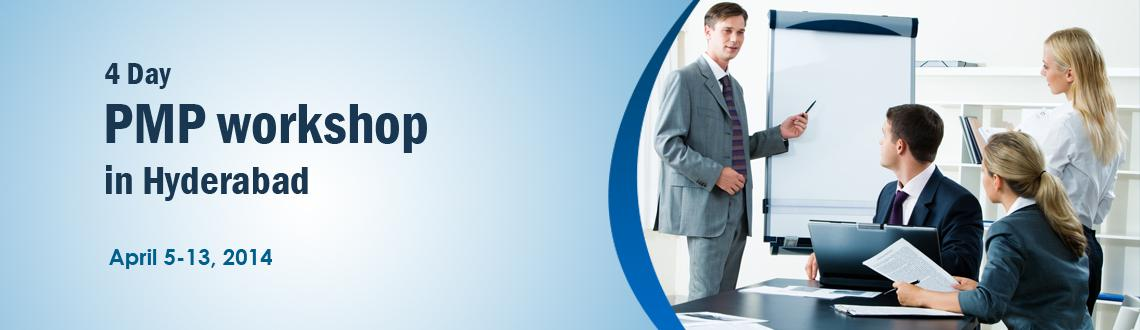 4 Day PMP workshop in Hyderabad - April 2014