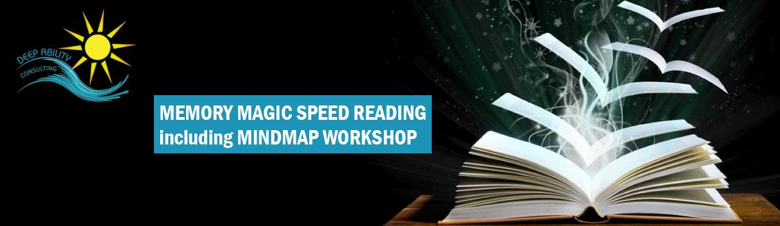 Book Online Tickets for MEMORY MAGIC  SPEED READING including Mi, Mumbai. MEMORY MAGIC & SPEED READING including MindMap WORKSHOP