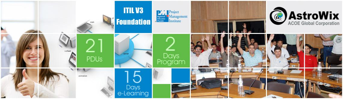 Book Online Tickets for Partner with ITIL Course to Enhance Effi, Noida. AstroWIx is offering a two day ITIL V3 Foundation Course that will create an awareness of terminology and concepts deemed essential for service management practices. These practices are about aligning tasks to set procedures which on paper and in the