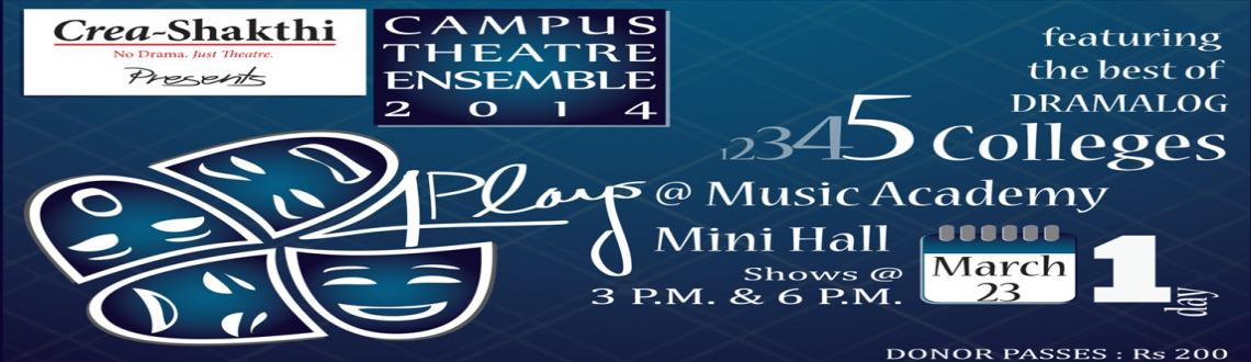 Campus Theatre Ensemble 2014