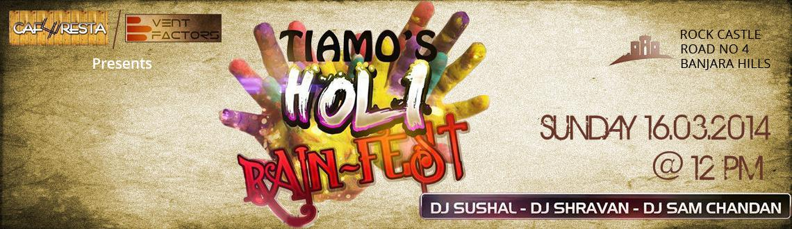 Book Online Tickets for Holi Rain Fest 2014 at Rock Castle, Hyderabad. A Party Every Student Wanna Experience with